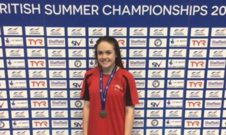 North Yorkshire girl makes a splash and becomes new British swimming champion