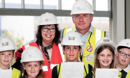 Children predict future inventions for NETPark time capsule