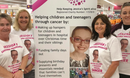 Overwhelming support as teenager's charity chosen by Cramlington customers