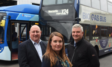 Britain's First Biogas-Powered Double Decker comes to Sunderland