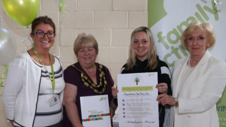 BATTC received Young Carers accreditation