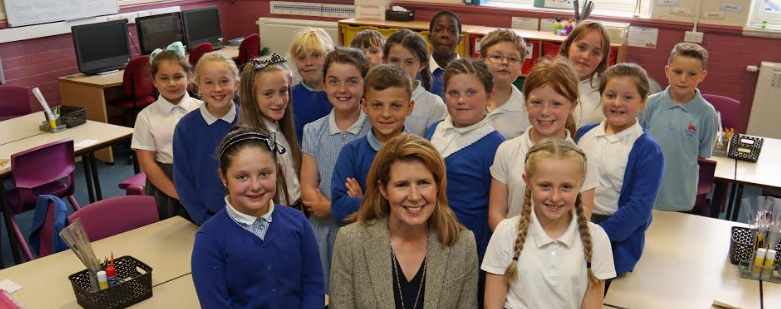 Politically-minded pupils quiz MP