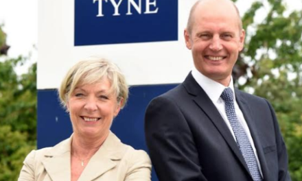 Two Business Leaders come on Board at the Port of Tyne