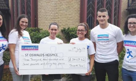 Grand Canyon challenge raises funds for St. Oswald's Hospice