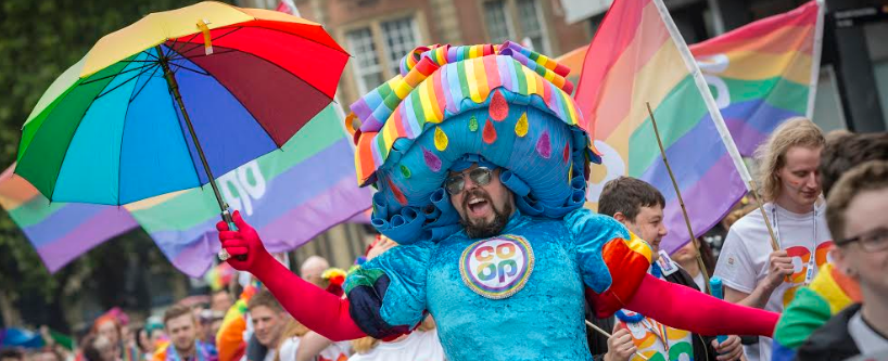 Thousands celebrate ten years of Pride in the city