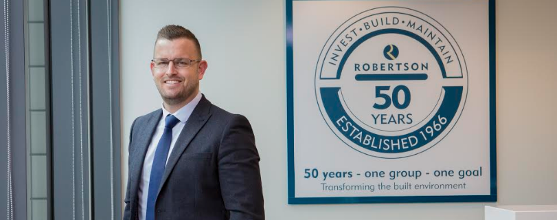 Robertson rolls out housebuilding division into NE