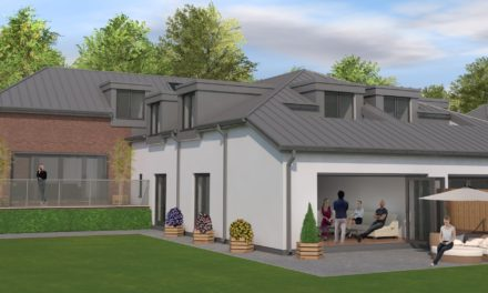 Luxury homes now available in Newcastle Walled Gardens