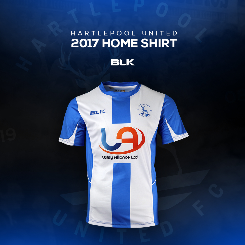 8fa84d71b Hartlepool United Unveil New Home Shirt - North East Connected