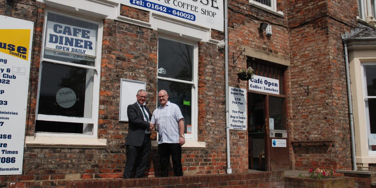 Tea and Talk on the Menu as Parkfield Lighthouse Finalises Coffee Shop Kitchen Update