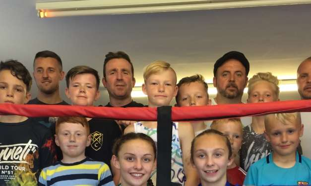 Newbiggin Boxers Doubling up with New Training Ring