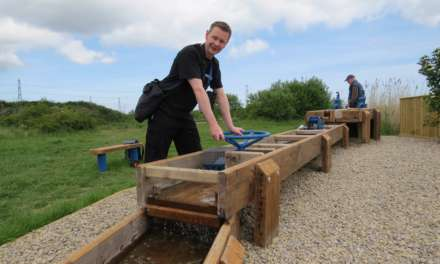 RSPB nature reserve investment offers new play equipment for families