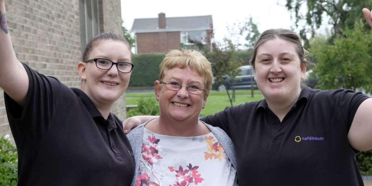 Determined duo with disabilities bag dream jobs thanks to Smile For Life Children's Charity