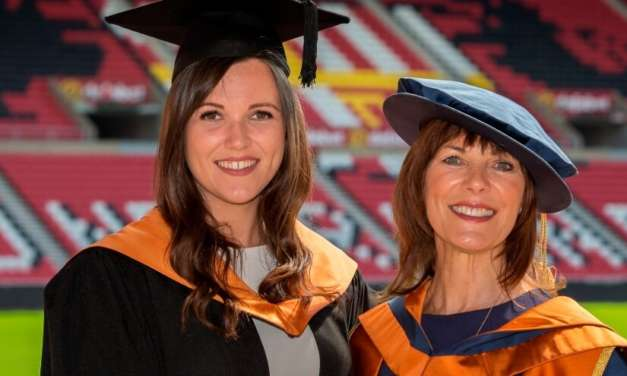 'Royle' mum reception for graduate