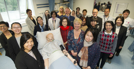 Northumbria showcases simulation-based learning to Thai nursing experts