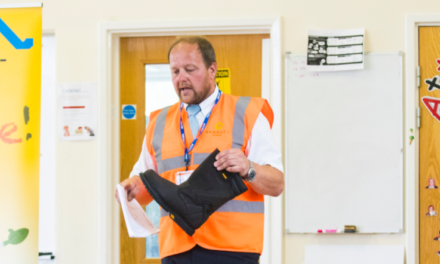 Safety First: Award-winning housing developer educates local school pupils