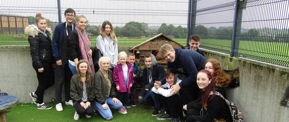 Teenagers are 'buzzing' about community action