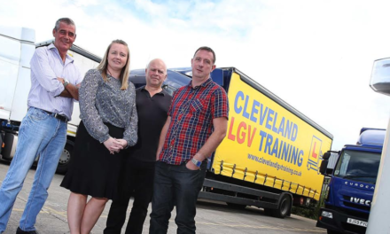 90-trainee contract win and new Test Centre for Cleveland LGV Training