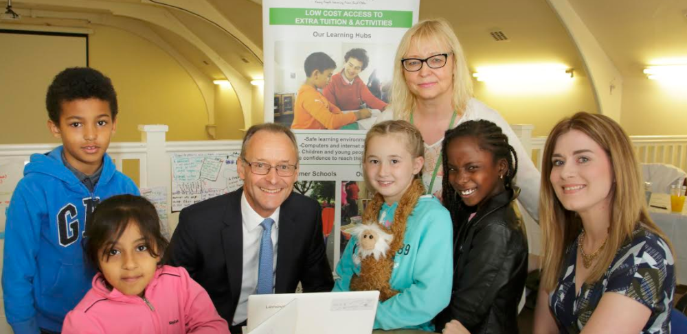 Vital laptop donation boosts learning at STEM summer school