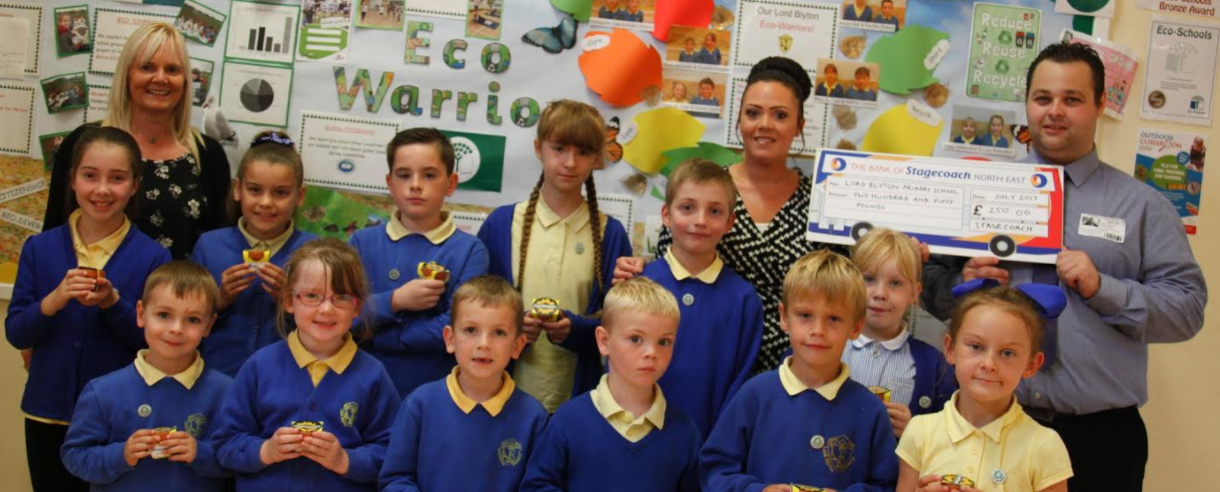 Young Eco Warriors Celebrate 'Green' Competition with £250 Prize