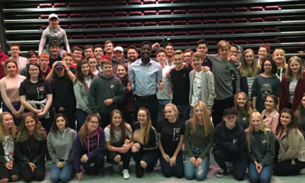 The Voice winner Jermain Jackman inspires teenagers in East Durham
