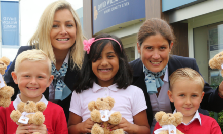 Local housing development hosts Teddy Bear Picnic Day celebration for Nunthorpe pupils