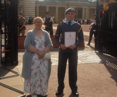 Air Cadets Gain Gold at Palace