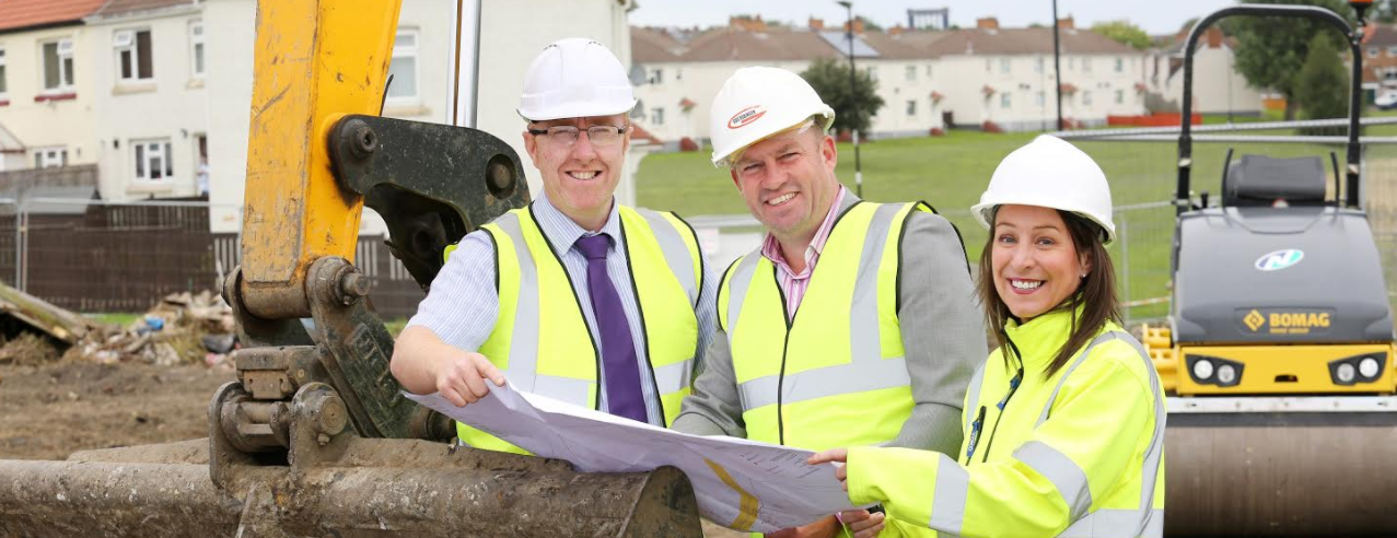 Approval for new Shiney Row homes