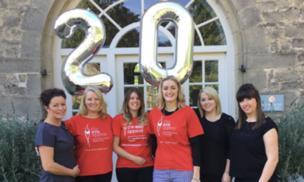 Saks salon marks 20th anniversary with three peaks charity walk