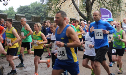 Runners Line Up For Fun in County Durham