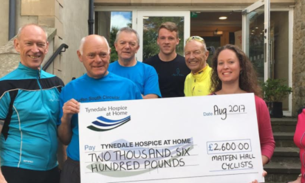 Pedal power clocks up pounds for Hospice