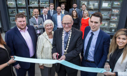 Estate agents celebrate expansion and relocation of Morpeth office