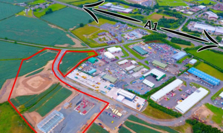 £1.2m investment at Alnwick industrial estate to bring new development opportunities