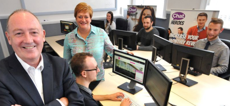 Chatting online steers Wallsend's Chat Heroes to success and expansion plans
