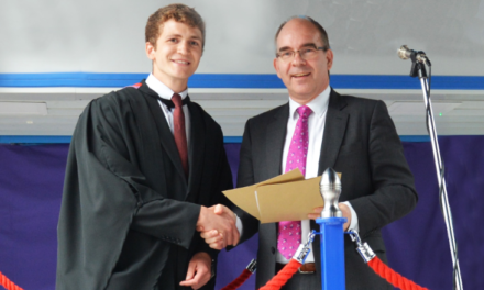 Durham student presented with top engineering award