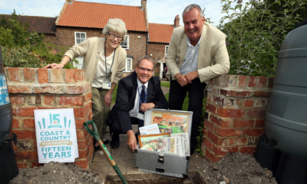 Time capsule celebrates 15 years of Coast & Country