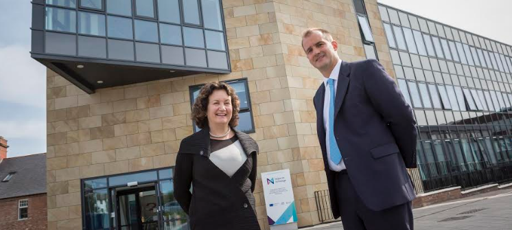 Northern Powerhouse Minister visits University's centre for enterprise and innovation