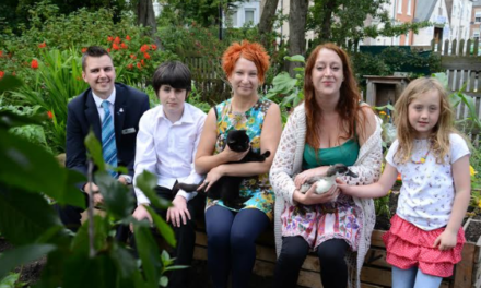 North Shields Community Garden Scheme Set to Grow Thanks to Newcastle Building Society Support