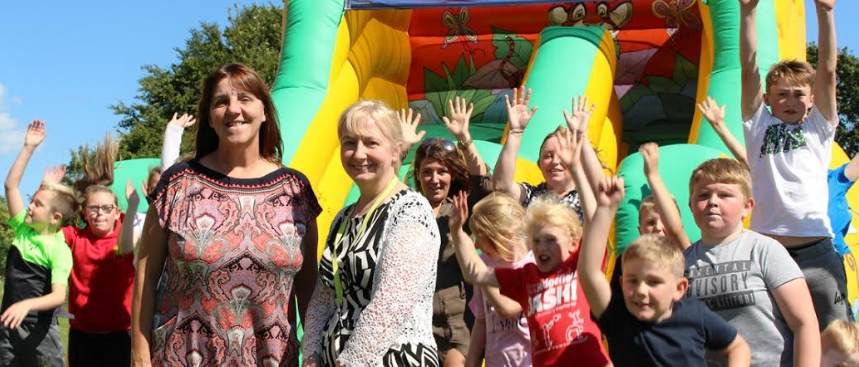 Trimdon kids are first for funding