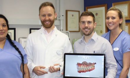 Local dental practice all smiles after massive growth injection