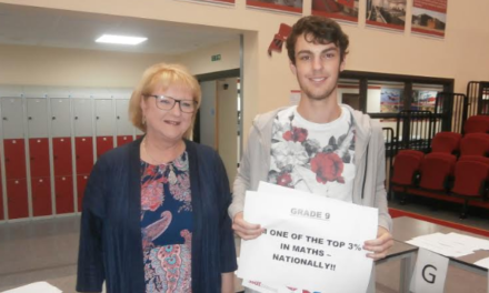Red House Academy celebrates student's maths success