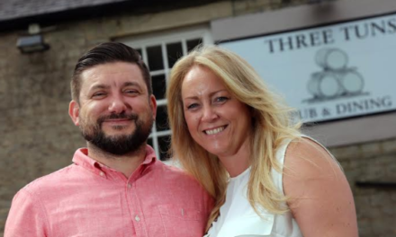 Bank Holiday weekend celebrations for husband-and- wife publicans