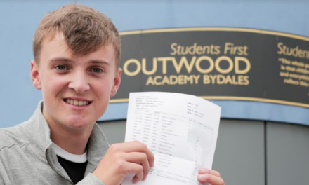 Brain tumour doesn't stop Charlie achieving top grades