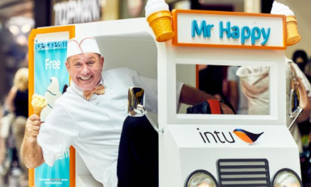 Stoop for a scoop – world's smallest ice cream van unveiled