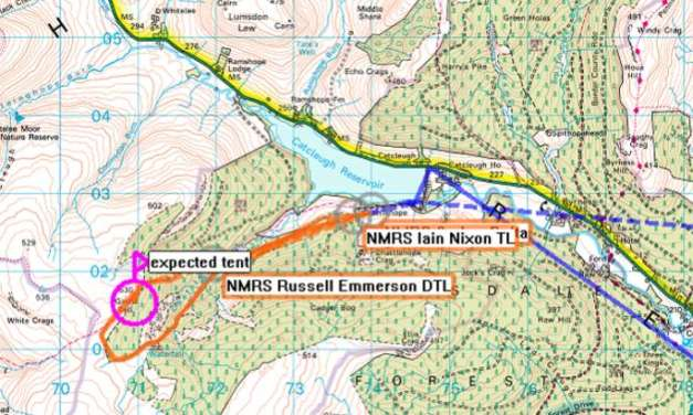 DofE group rescued in Northumberland