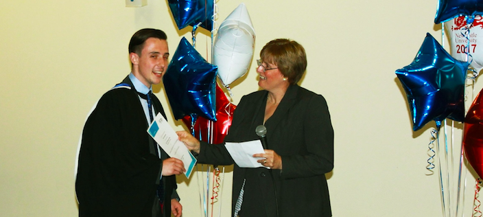 Engineering awards for Newcastle students