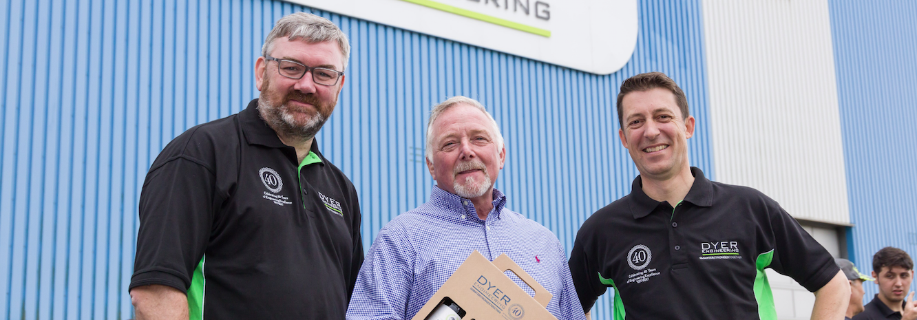 North East engineering firm celebrates 40 years in business