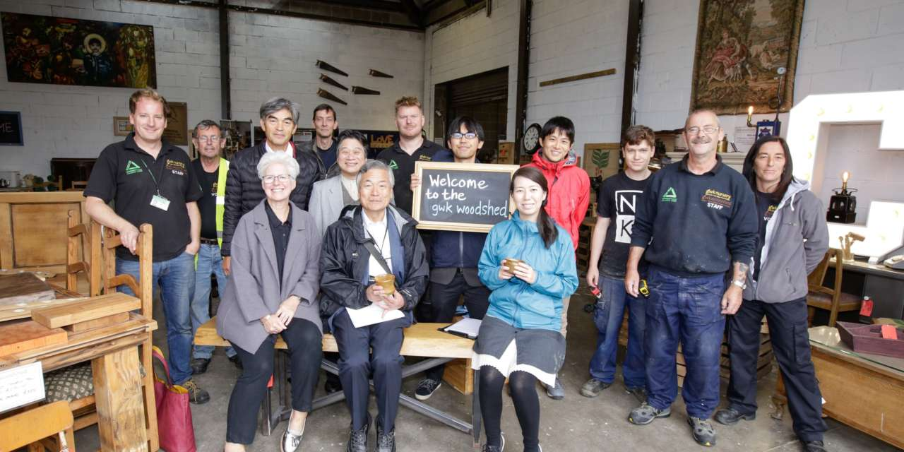 Japanese academics visit North East to see how community-led initiatives have transformed the region