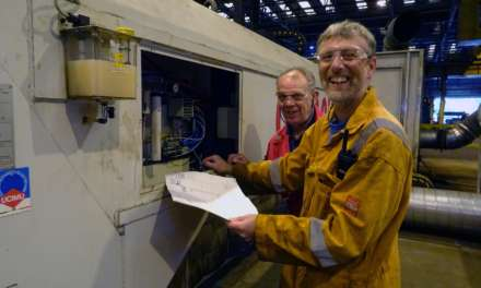 Cleveland Bridge Maintenance Men clock up 90 years' combined service