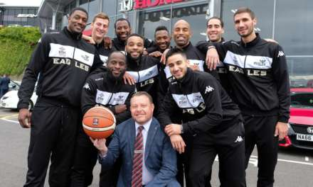 New-look Newcastle Eagles net Vertu Honda sponsorship