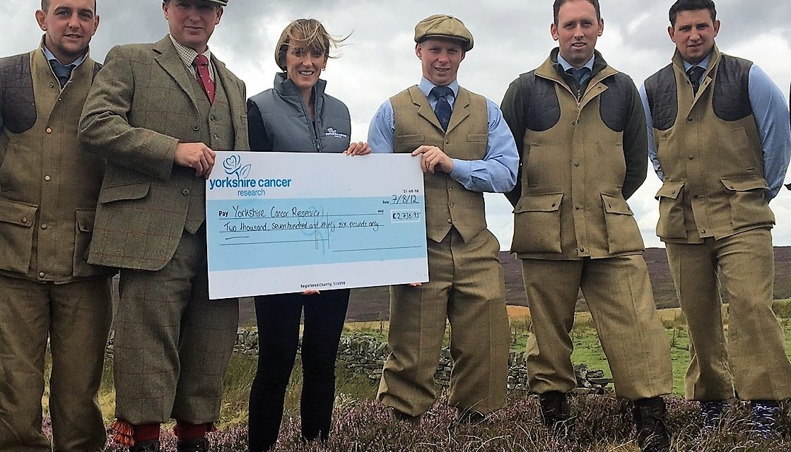 NORTH YORKSHIRE GAMEKEEPERS SHOW THEY ARE GAME FOR A GOOD CAUSE